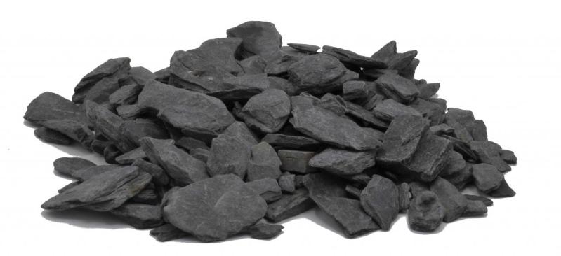 Black Slate Splitt kaufen beim Deutscher Baustoffhandel
